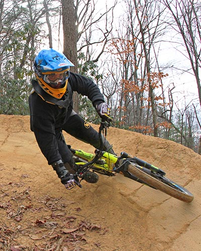 Bailey Mountain Bike Park in Winter